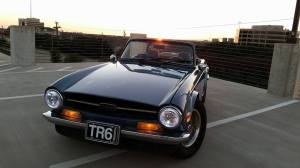 Tim Shanes Triumph TR6